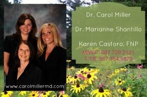Carol Miller Marianne Shantillo Karen Castoro